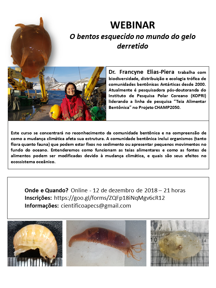 Divulgação Webinar APECS_Francyne